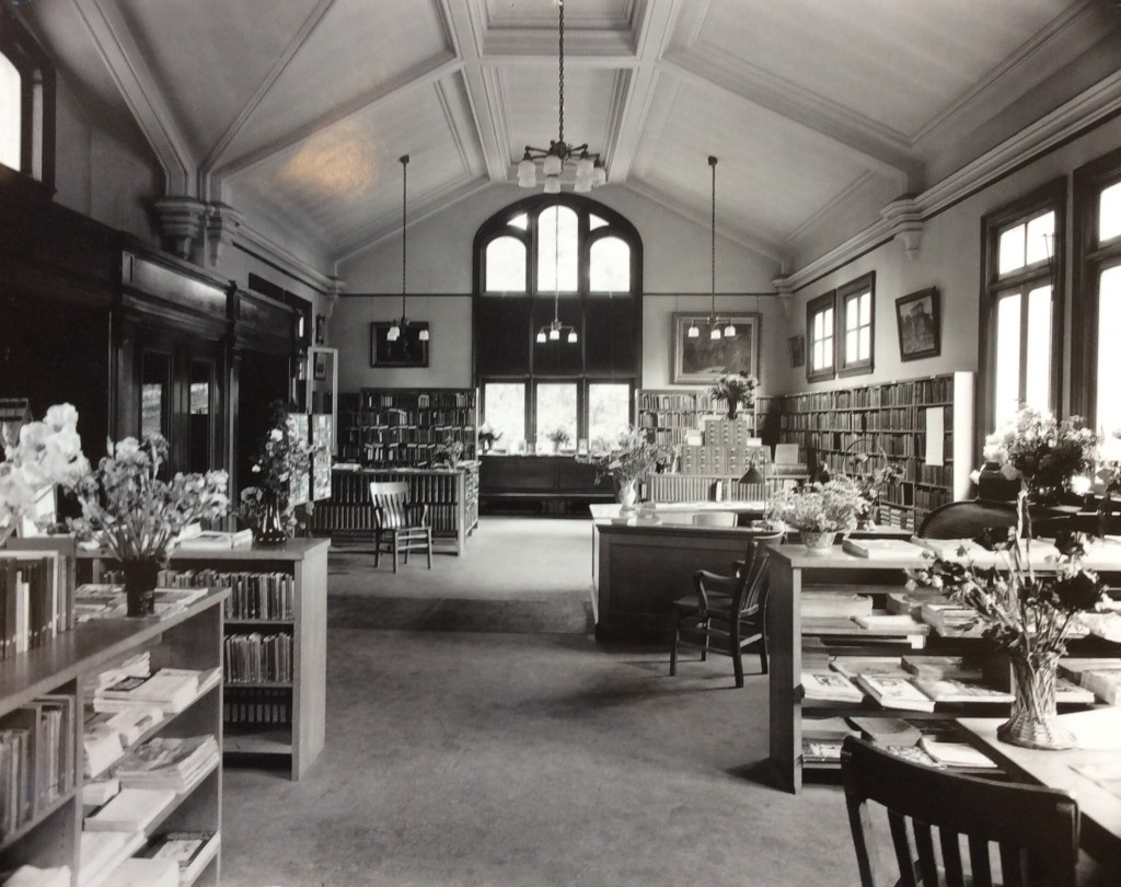 inside library history