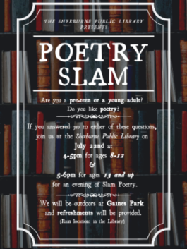 Another Poetry Slam!