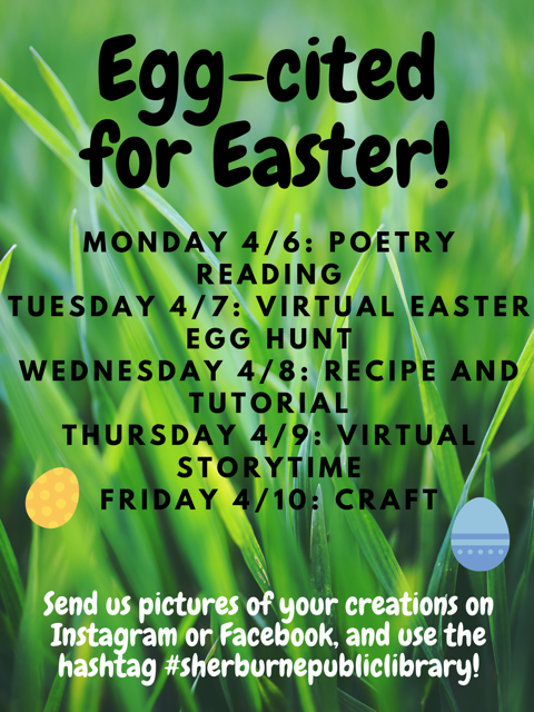Egg-cited for Easter!