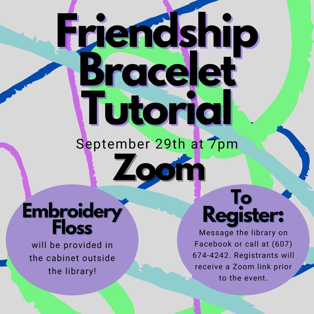 Friendship Bracelet Tutorial